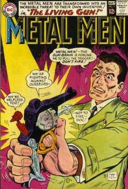 Metal Men 7 - Duncan Rouleau, Ross Andru