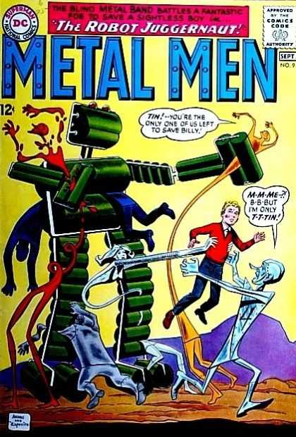 Metal Men 9 - Ross Andru