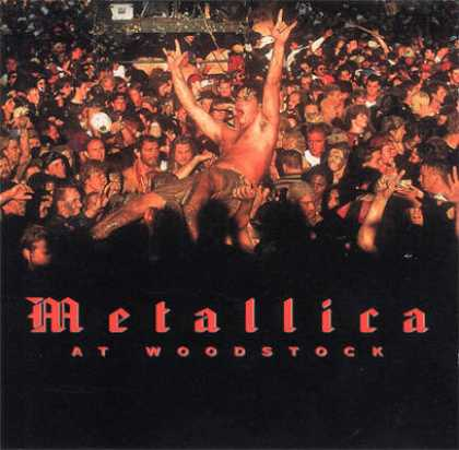 Metallica - Metallica - At Woodstock