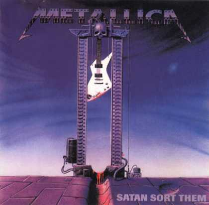 Metallica - Metallica - Saten Sort Them Out