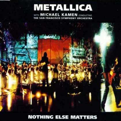Metallica - Metallica Nothing Else Matters