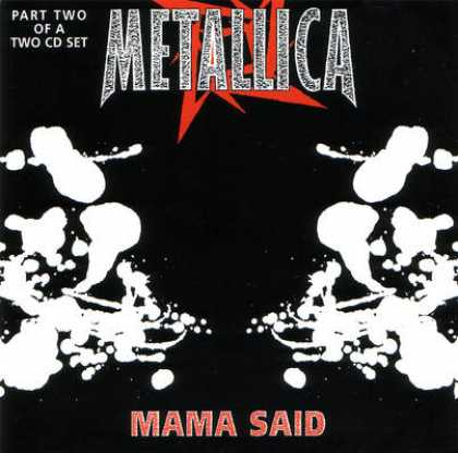 Metallica - Metallica - Mama Said, Pt. 2 [uk]