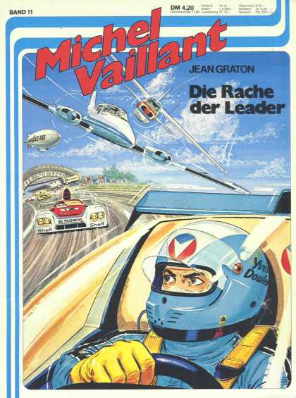 Michel Vaillant 11 - Car - Plane - Racetrack - Racing - Men