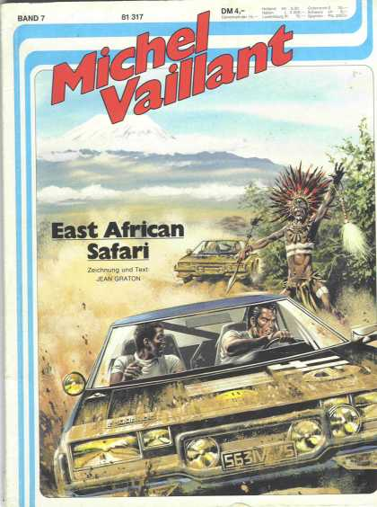 Michel Vaillant 7 - East African Safari - Jean Graton - Sedans - Men Drivers - Mountains