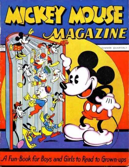 Mickey Mouse Magazine 1