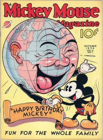 Mickey Mouse Magazine 13
