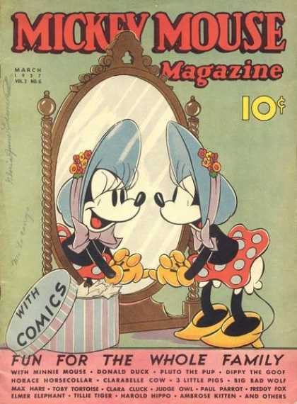 Mickey Mouse Magazine 18