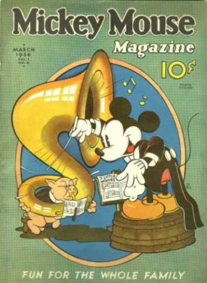 Mickey Mouse Magazine 6