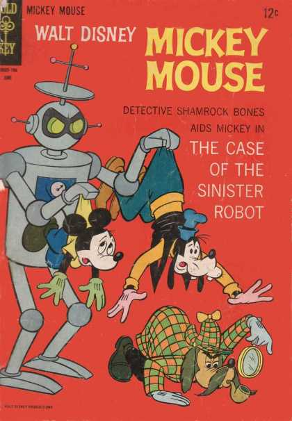 Mickey Mouse 113 - Mickey Mouse - Goofy - Detective - Trouble - Robot