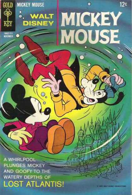 Mickey Mouse 115 - Disney - Disney Comics - Mickey Mouse - Goofy - Lost Atlantis