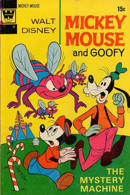 Mickey Mouse 137 - Goofy - Hornets - Candy Canes - Mystery - Machine