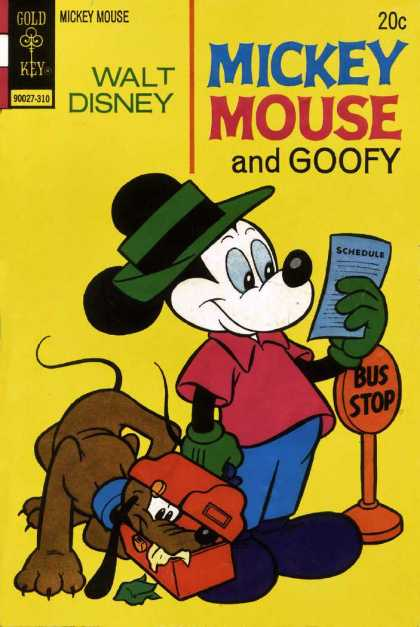 Mickey Mouse 145 - Dog - Hat - Nose - Paper - Post