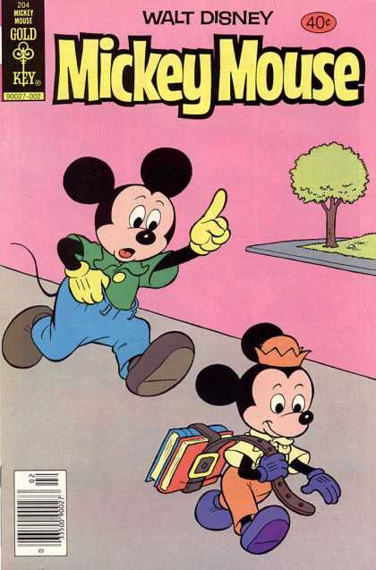 Mickey Mouse 204 - Disney - Disney Comics - Micky - Mouse - Child