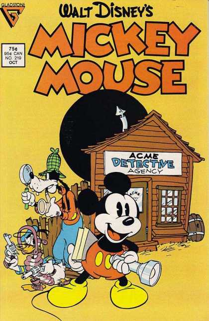 Mickey Mouse 219 - Walt Disney - Acme Detective Agency - Goofy - Mickey Mouse - Donald Duck