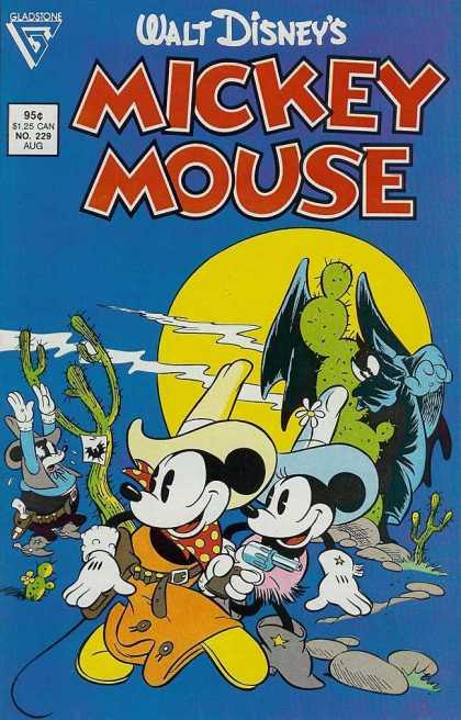 Mickey Mouse 229 - Walt Disney - Minnie Mouse - Cactus - Cowboy - Bat