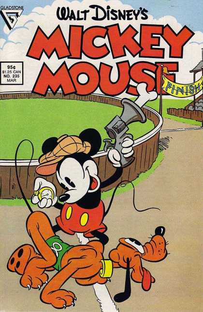 Mickey Mouse 235 - Walt Disney - Gun - Bone - Mouse - Finish