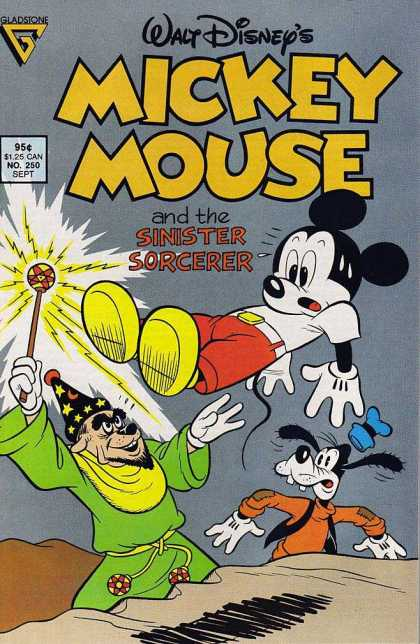 Mickey Mouse 250 - Goofy - Sinister Sorcerer - Staff - Magid - Levitate