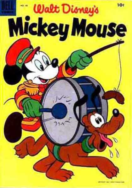 Mickey Mouse 40 - Walt Disney - Pluto - Drum - Sausage - Marching Band Uniform
