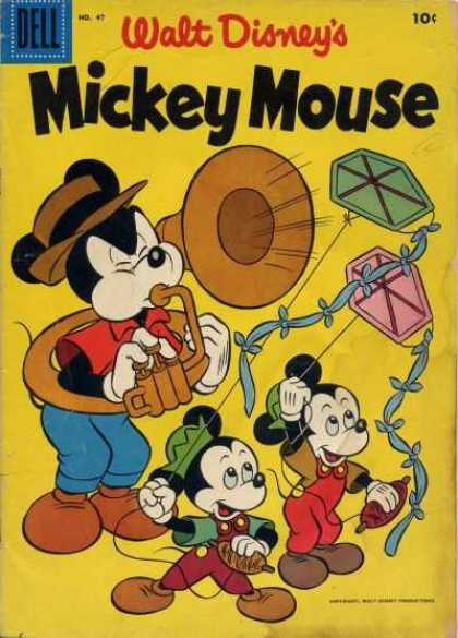 Mickey Mouse 47 - Classic Mickey - Classic Comic - 10 Cent Comic - Young Mice - Disney
