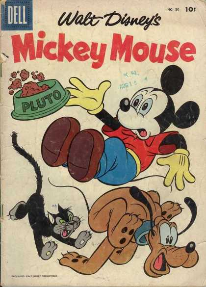 Mickey Mouse 50 - Dell - Walt Disney - Pluto - Cat - No 30
