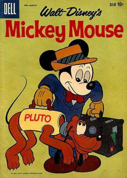 Mickey Mouse 64 - Dell - Walt Disneys - Feb-march - Cap - Pluto