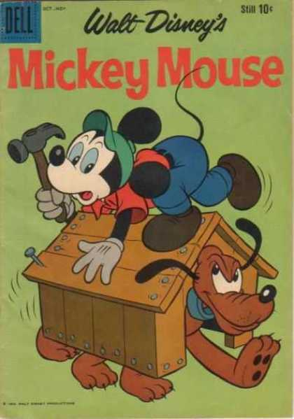 Mickey Mouse 68 - Dell - Walt Disneys - Hammer - Cap - Very Small Home