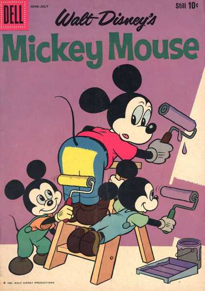 Mickey Mouse 72 - Mickey - Tale - Pint - Stairs - Can