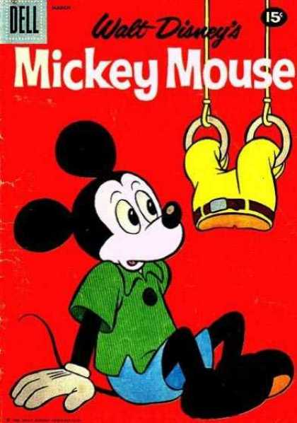 Mickey Mouse 76 - Mickey - Mouse - Walt - Disney - Classic