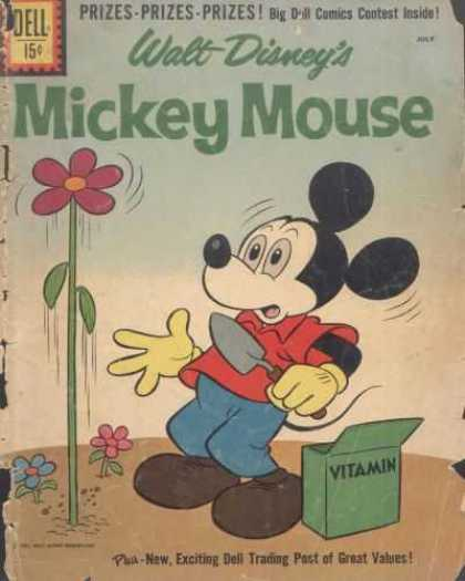 Mickey Mouse 78 - Prizes - Walt Disney - Giant Flower - Vitamin - Garden
