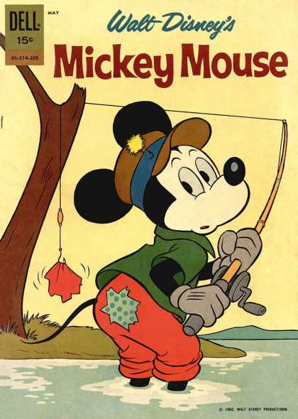 Mickey Mouse 83 - Dell - May - 15 - Walt - Disney