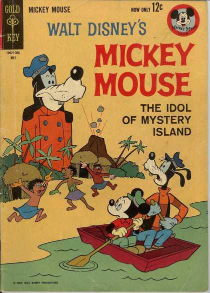 Mickey Mouse 87 - Island - Walt Disney - Guffy - Mouse - Aborigens