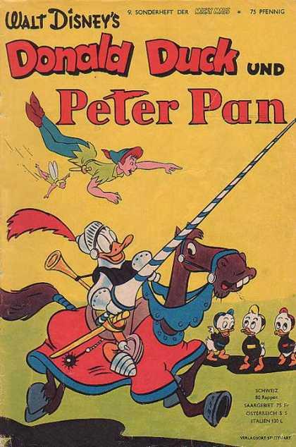 Micky Maus Sonderheft 10 - Peter Pan - Tinkerbell - Donald Duck ...