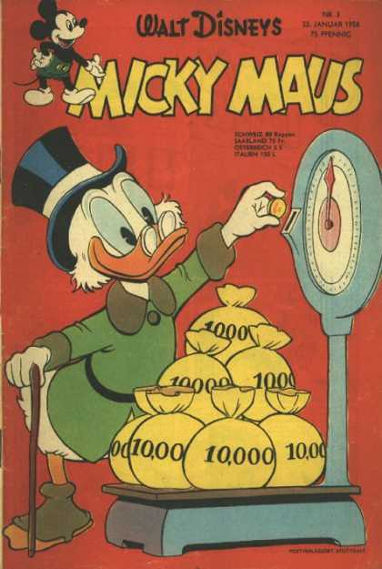 Micky Maus 109 - Counting Cash - Cold Hard Cash - Money Money - Riches - Going For The Gold