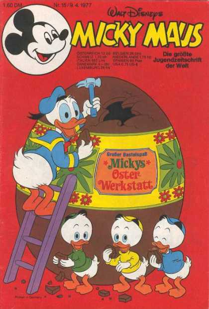 Micky Maus 1112 - Disney - Disney Comics - Mickey Mouse - Donald Duck - Egg