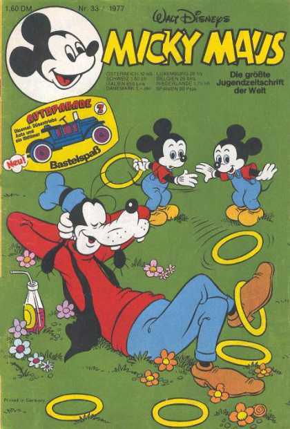 Micky Maus 1130 - Walt Disney - German Mickey Mouse - Goofy - Foreign Comics - Classic Comics