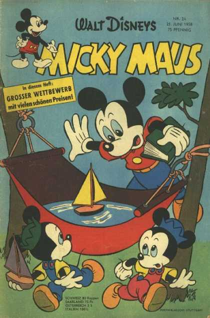 Micky Maus 130 - Micky Maus - Mickey Mouse - Walt Disney - German - Morty And Ferdie