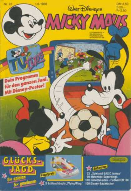 Micky Maus 1568 - Mouse Sports - Fila - Goof Troop - Minnie - Tv
