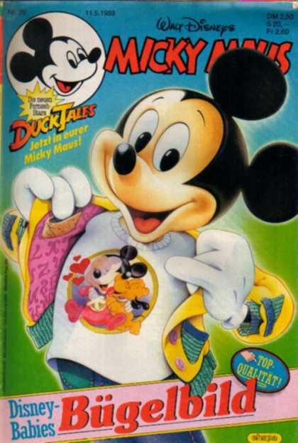 Micky Maus 1604 - Walt Disney - Ducktales - Mickey Mouse - Love T-shirt - Disney Babies