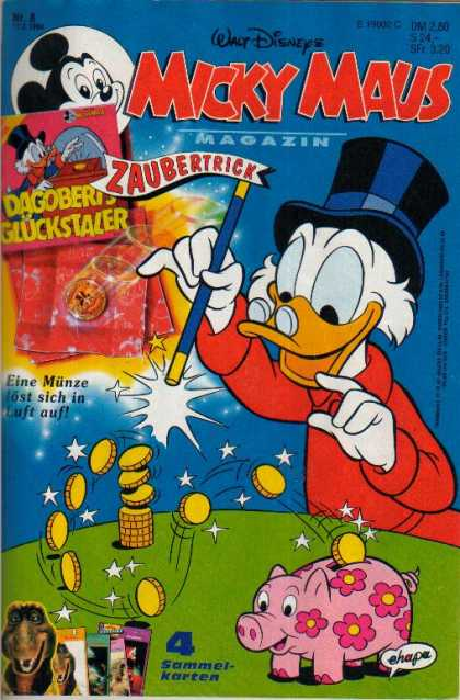 Micky Maus 1846 - Donald Duck - Saves Money - Miser - Scrooge - Magic Wand
