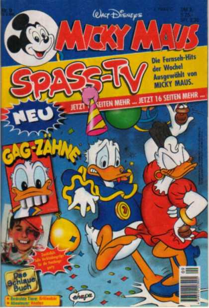 Micky Maus 1900 - Spass-tv - Donald Duck - Daisy Duck - Balloons - Party Heat