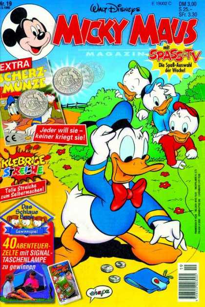 Micky Maus 1910 - Donald Duck - Mickey - Kids - Money - Trap