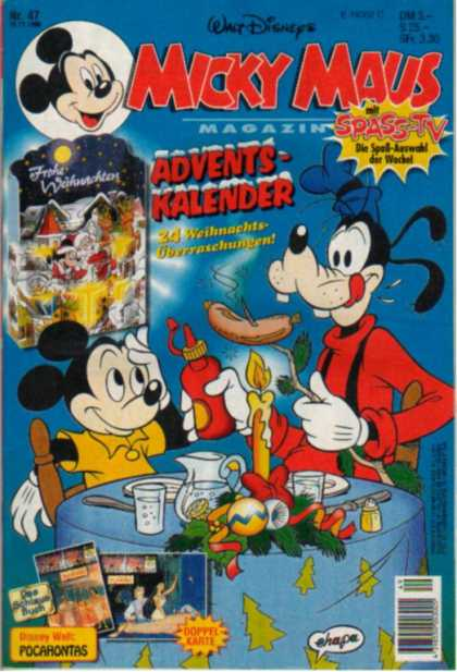 Micky Maus 1941 - Mickey Mouse - Goofy - Advents Kalender - Dinner - Hot Dog