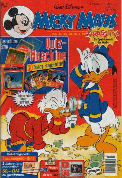 Micky Maus 1953 - Walt Disney - Donald Duck - Scrooge Mcduck - Treasure - Riches
