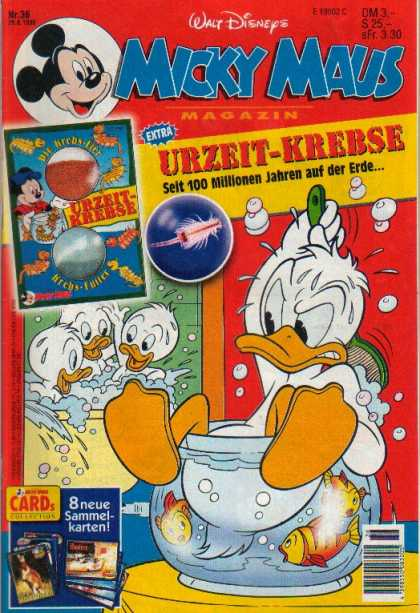 Micky Maus 1982 - Walt Disneys - Extra - Magazin - Donald Duck - Fish