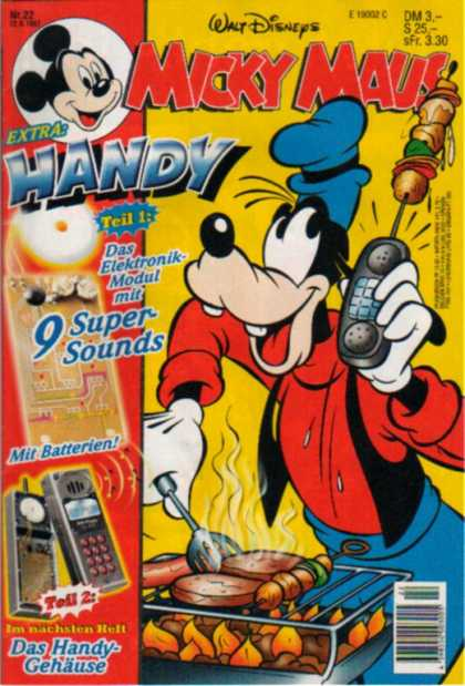 Micky Maus 2020 - Phone - Grill - Goofy - Shish Kebabs - Fire