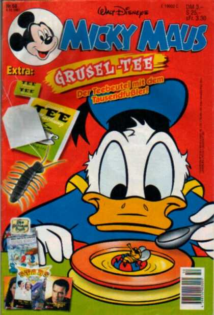 Micky Maus 2048 - Mickey Mouse - Donald Duck - Plate - Bowl - Spoon