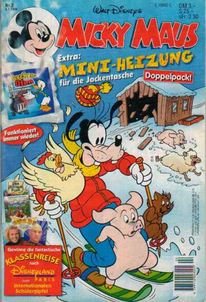 Micky Maus 2053 - Rat - Mouse - Mickey - Pig