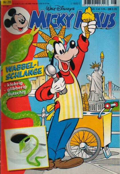 Micky Maus 2079 - Ice Cream - Statue Of Liberty - Dog - New York - Snake