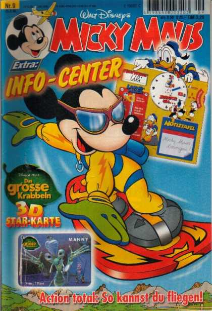 Micky Maus 2112 - Micky Maus - Info-center - Mouse - Walt Disney - Donald Duck