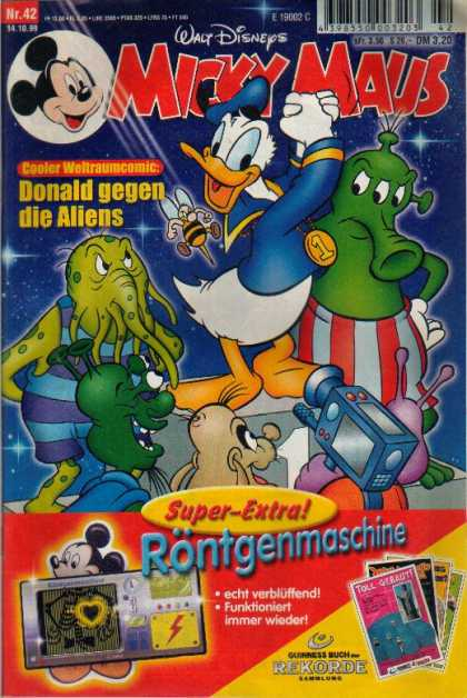 Micky Maus 2145 - Walt Disney - Donald Duck - Number 42 - Rontgenmaschine - Foreign Comic